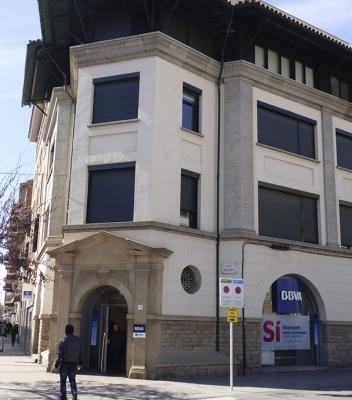 Edifici plurifamiliar – Bisbe Strauch – Vic
